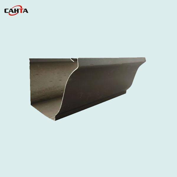 long lasting 7 inch K style seamless aluminum gutter