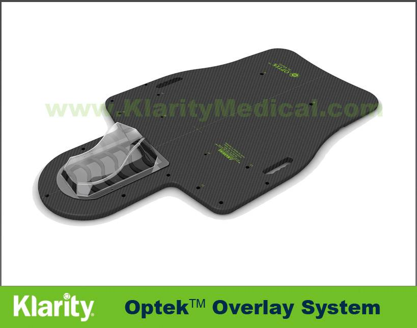 Klarity Optek Overlay System Radiotherapy Baseplate