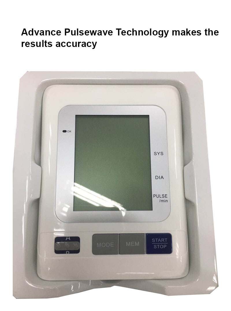 Arm Type BP Machine With Large LCD Display and 2 Users