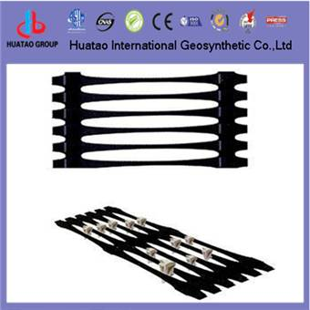 high strength plastic uniaxial geogrid