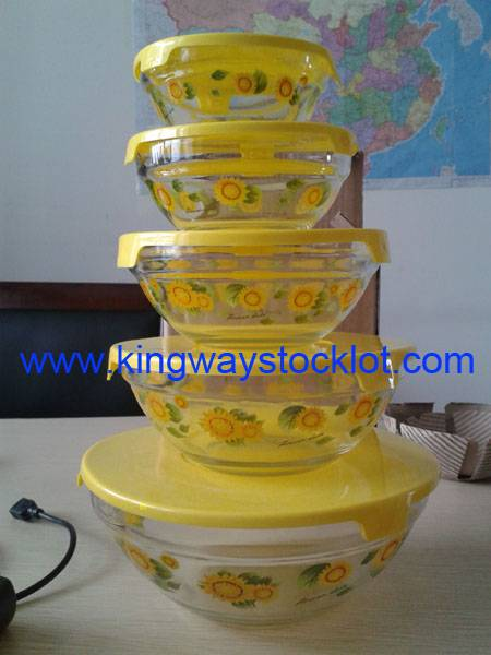 stock glass bowls/overstock glass bowls/liquidation glass bowls/surplus glass bowls