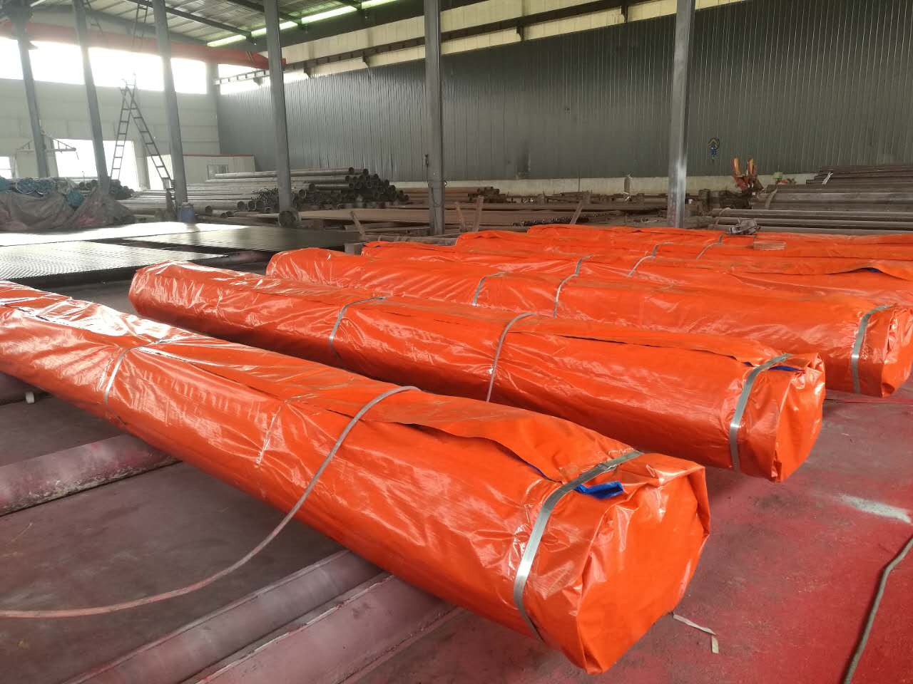 API 5L Seamless/LSAW carbon steel line pipe