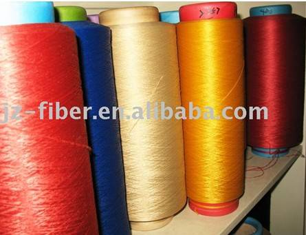 Sell Dope Dyed Micro polypropylene Yarn DTY 150D/144F