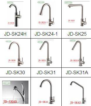 Grade 403 stainless steel kitchen faucet