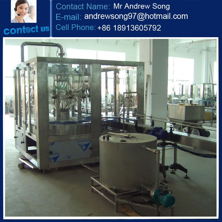 small water bottling line