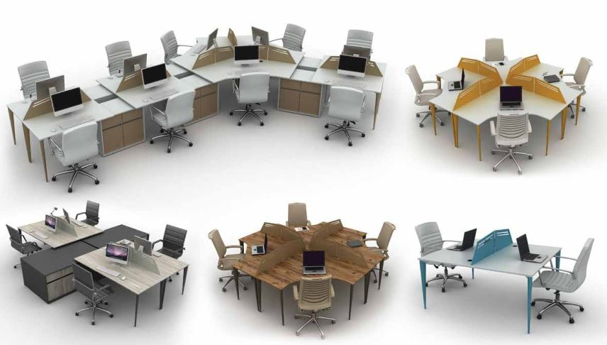 Best Offer Office Workstation And Partitions Cubicles Furniture