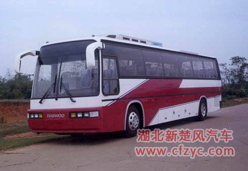 different types of luxury touring bus