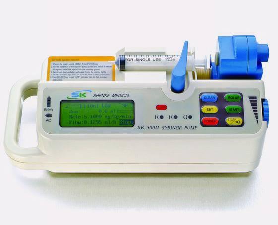 Medical equipment -SK-500II Syringe Pump with CE Mark