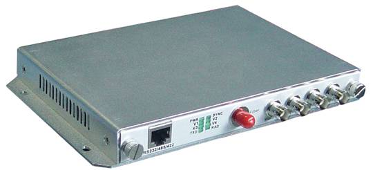 digital video/audio optic transmitter and receiver