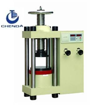 2013 Brick Compression Testing Machine+cement brick machine+press machine