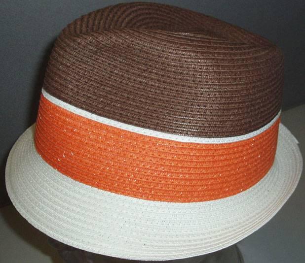 Paper straw hat, fashion cap