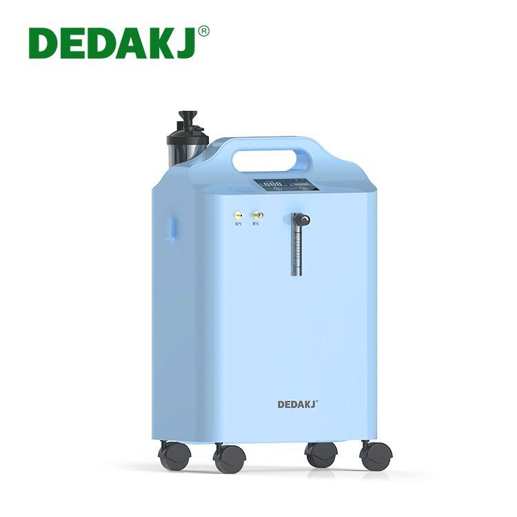 CE Certificate Dedakj Medical Grade 1L 5L 10L 12L Oxygen Concentrator with Nebulizer