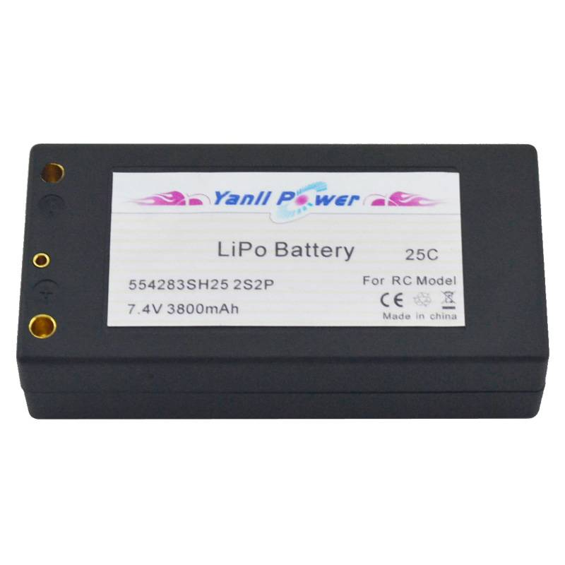 RC LiPo Car Battery Pack 2S2P 7.4V 4500mAh 50C