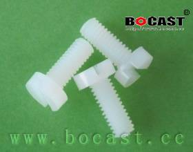 Slotted Cheese Head Nylon Screws
