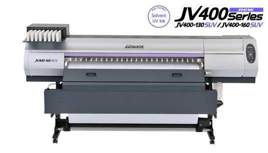 MIMAKI JV400-130SUV Solvent UV Wide Format InkJet Printer