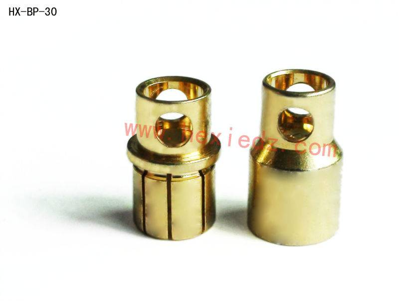 8.0mm gold plated connector male and female