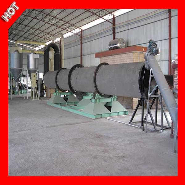 China Famous Brand Chicken Manure Rotary Dryer