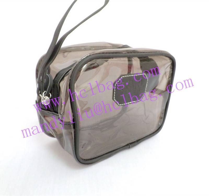 clear pvc cosmetic pouch