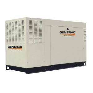 Generac 60,000-Watt Liquid Cooled Standby Generator Steel
