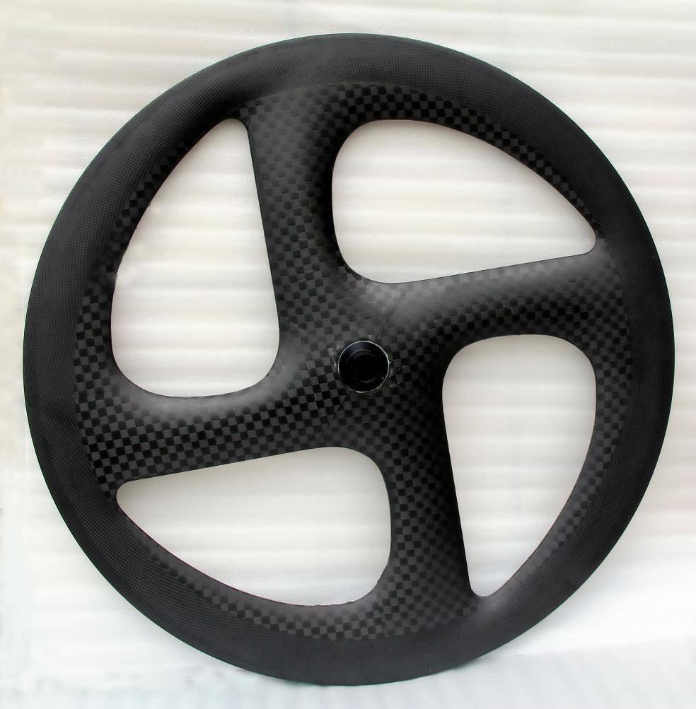 carbon 700c track wheel four spoke wheel