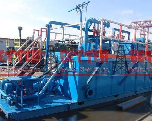 Drilling Fluid System equipments Mud system control