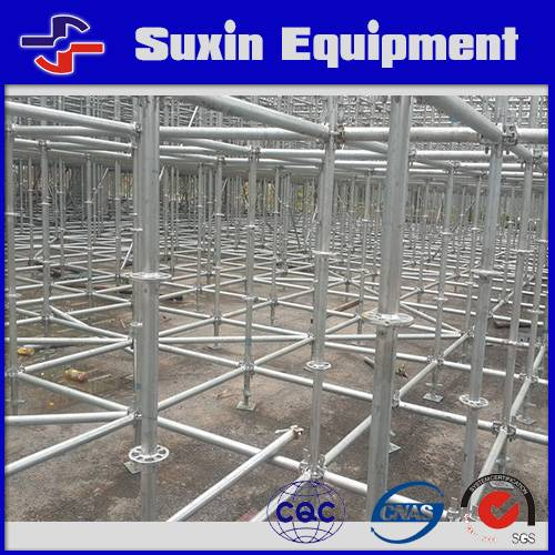 scaffolding system for construction used