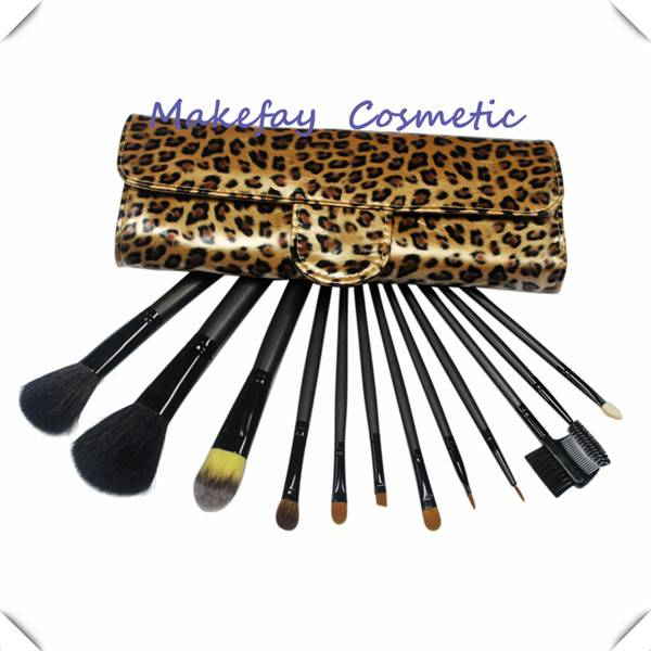 Hot Sale10pcs Small Gift Makeup Brush Set Promotional Makeup Brush