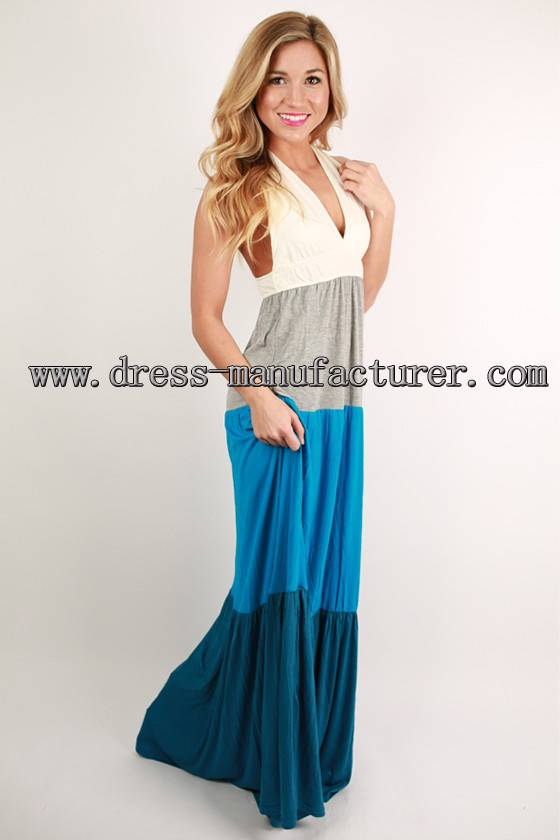 2015 new design Bohemian maxi Dress elegant casual dress