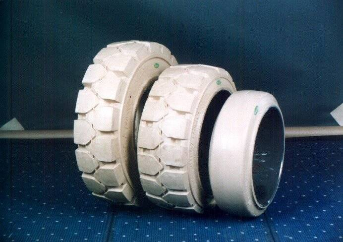 no marking solid tire