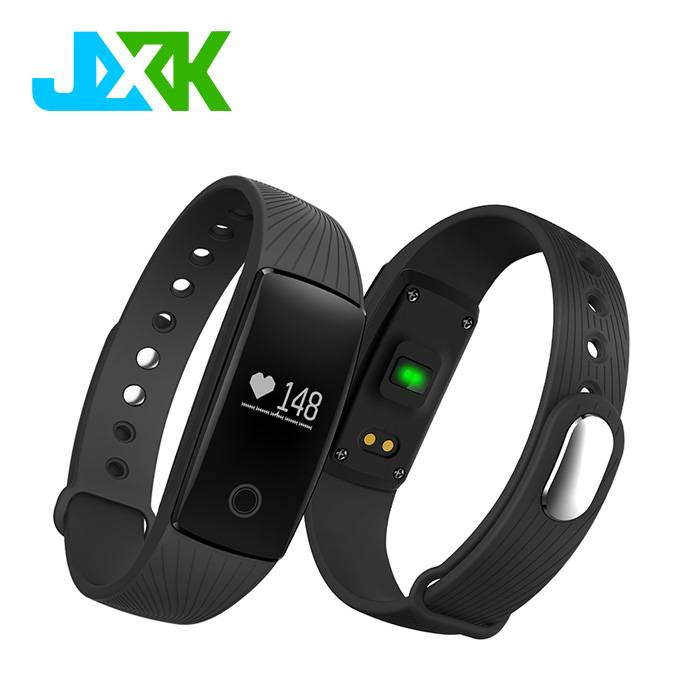 Blood pressure and heart rate monitor Bluetooth Smart Watch M3 with Pedometer Function for Fitness T