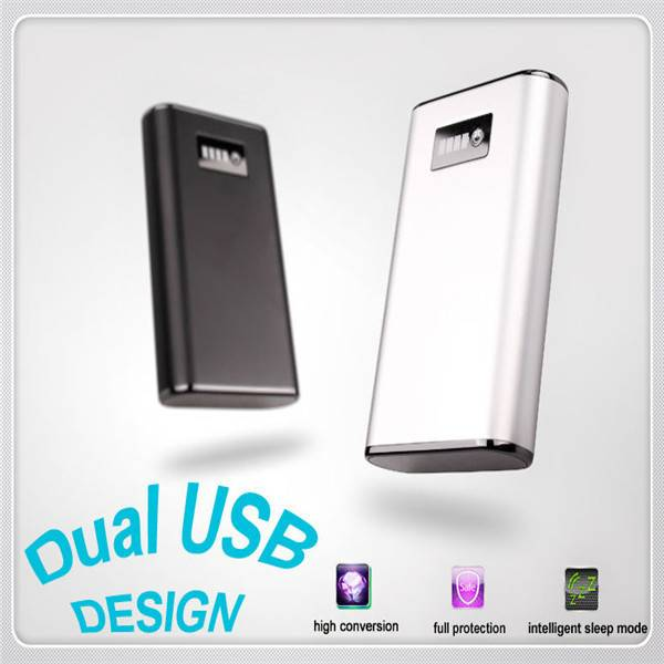 Portable Dual Usb High Quality Universal Powerbank 7800mah