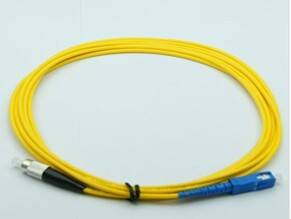 3 meter Fiber optic patch cord with flexible metal tube,ratproof solution,Good sales