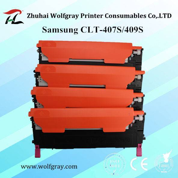 Samsung CLT-407S/CLT-409S Toner Cartridge for Samsung CLP-320/325W/326