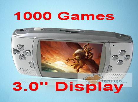 Game MP4 Player (1000 Games/3.0 Display)