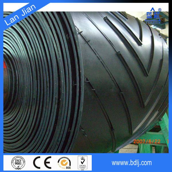Chevron conveyor belt/Conveyor belting/Patterned conveor belt for packaged materials