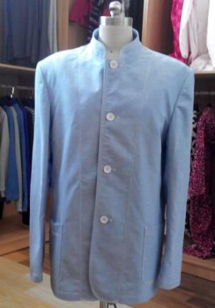 Men Leisure Jackets Denim Fabric with Washing