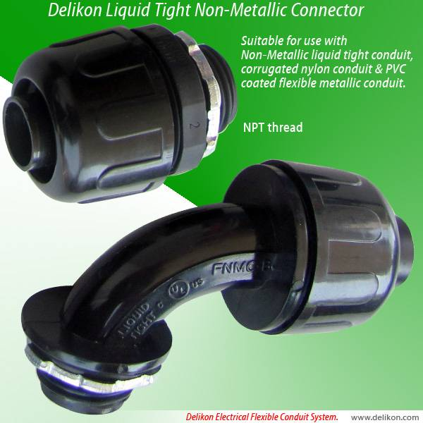 Liquid Tight Non Metallic Connector (NPT Threads)
