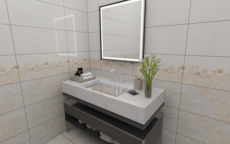 Hot Selling 3D Ceramic Wall Tile Floor Tiles Glazed Tiles Kitchen Bathroom Glossy (300X600mm)