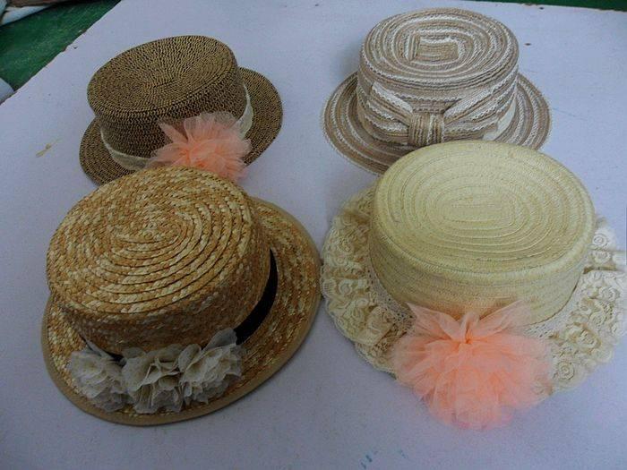 Straw hat, fashion accessories caps