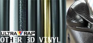 Ultrawrap 3D special vinyl