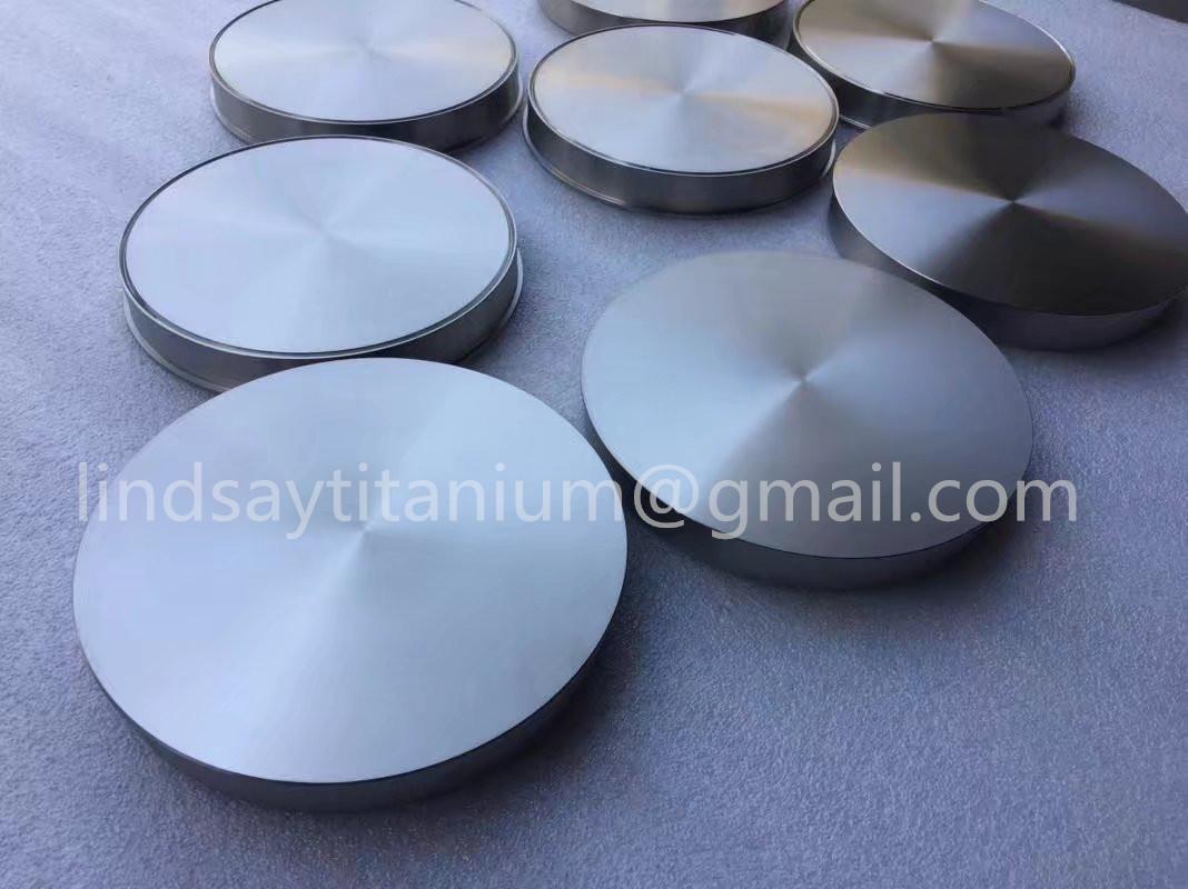 ASTM F136 Gr5 titanium target disk for medical