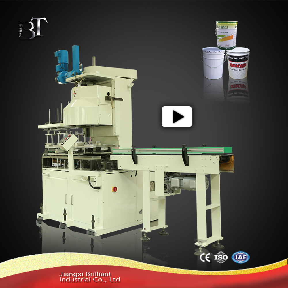 Promote sale used tin can making machine for conical drum