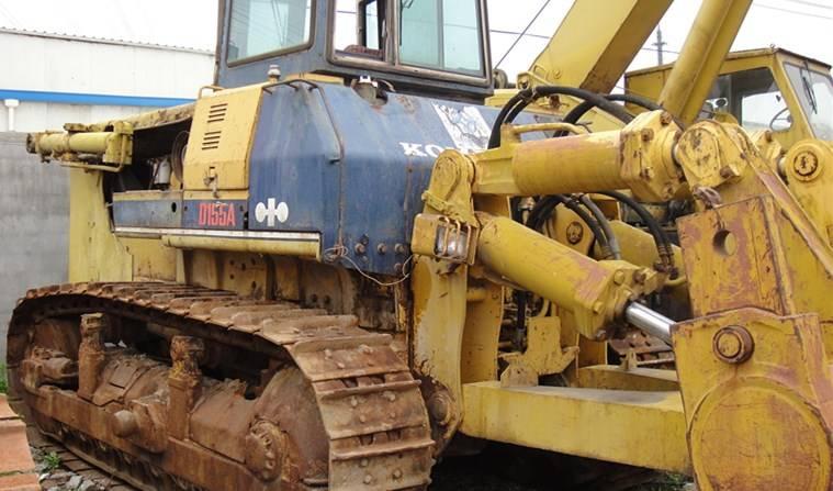 used komatsu D155A-2 bulldozer