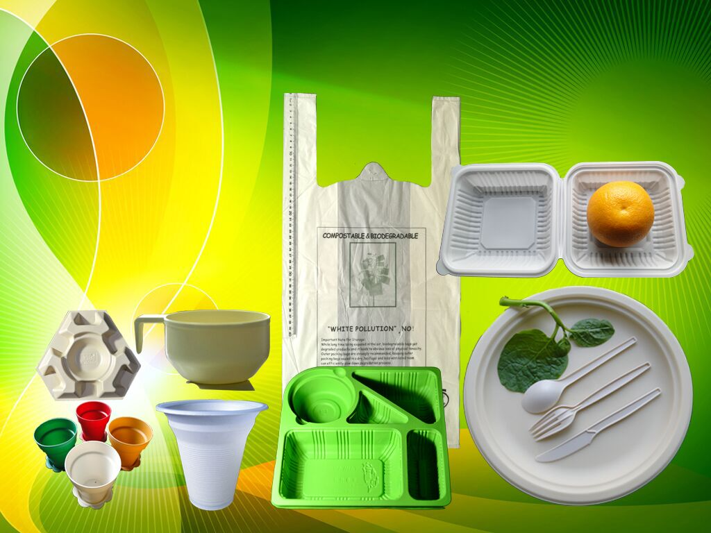 100% biodegradable & compostable products