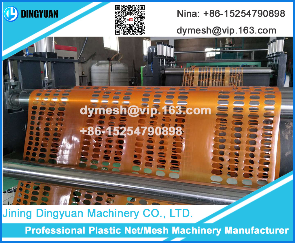 High speed good quality Plastic Safety Fence Machine