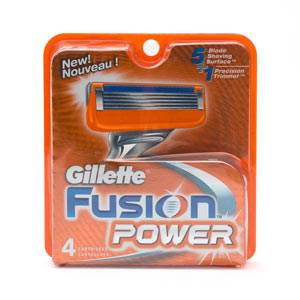 sell gillette power fusion razor blades