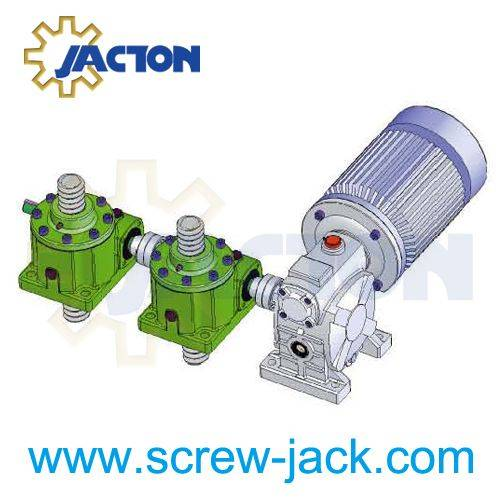 electric screw jack operated lift table