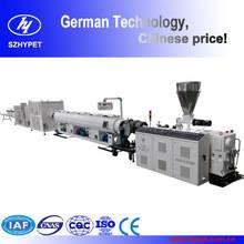 PVC 20-110MM SINGLE PIPE LINE WITH CONIC TWIN SCREW EXTRUDER ZS51