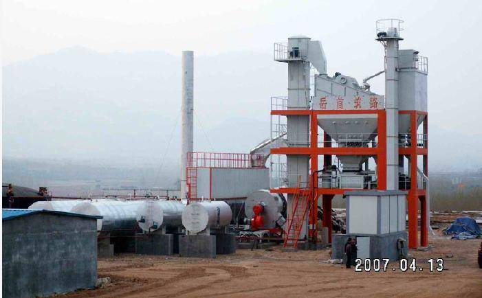 Environmental Protection Asphalt Mixing Plant (HLB5000)