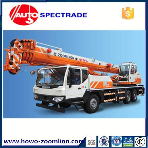 26 ton truck crane Zoomlion QY25